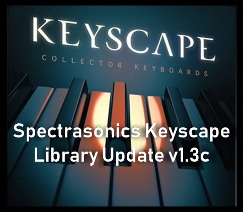 دانلود آپدیت کی اسکیپ Spectrasonics - Keyscape Library Update v1.3c